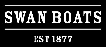 logo for Swan Boats of Boston
