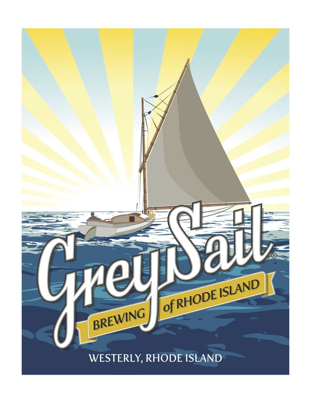 logo for Grey Sail Brewing