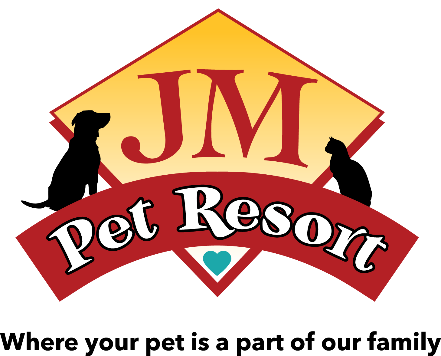 logo for JM Pet Resort