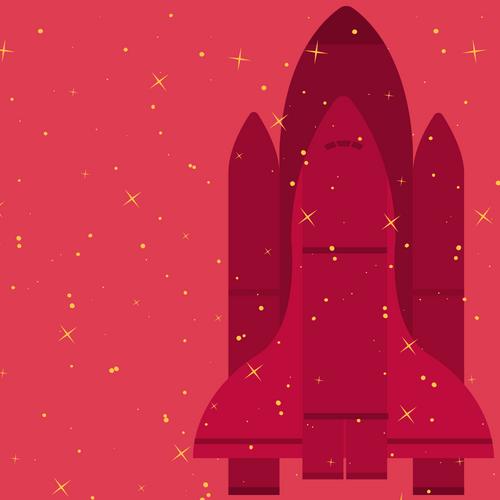 Shuttle graphic